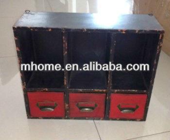 Armadio A Muro Shabby Chic : Mhome shabby chic in legno piccolo armadio a muro con cassetti buy