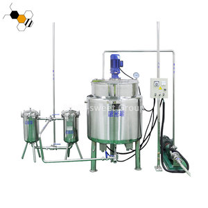 New style Honey filter and thickener processing plant honey processing machine