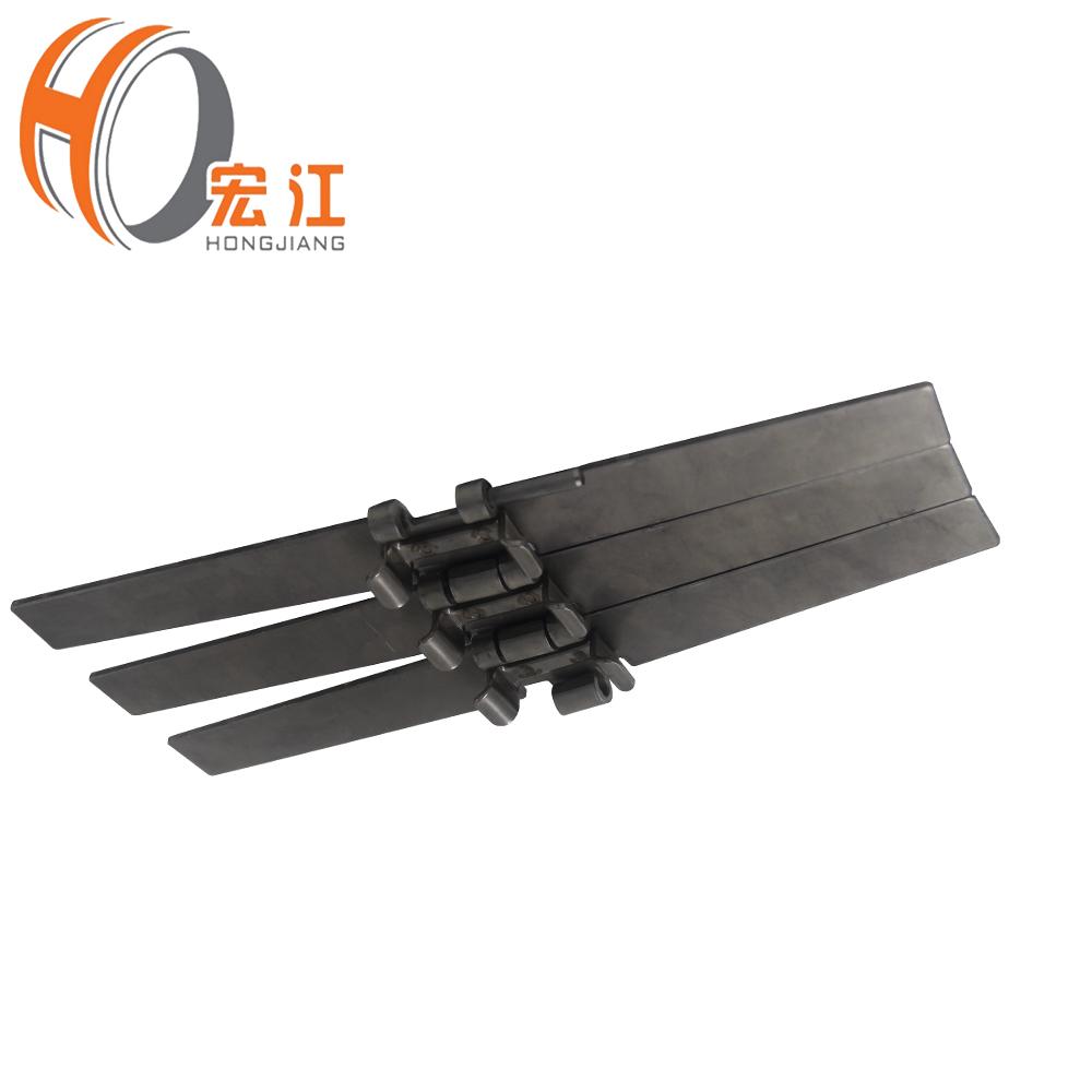 مزدوجة الجرف الفولاذ المقاوم للصدأ سلسلة تشغيل التوالي مع سلسلة الناقل