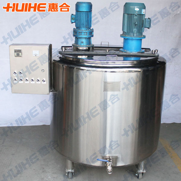500L Emulsifying Mixing Tank with Top Agitator