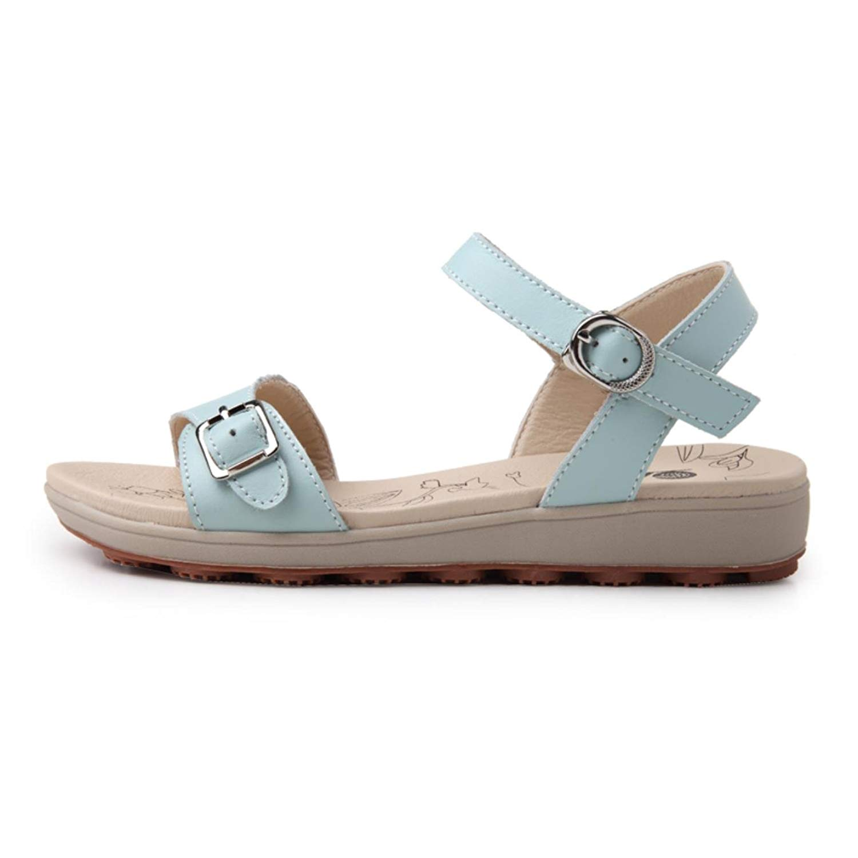 7d0207e99c3 Get Quotations · Women Summer Sandals Fashion Metal Buckle Ladies Beach  Sandals Durable Non-slip Pregnant Girls Shoes