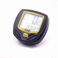 waterproof wireless electric has noctilucent bike computer multifunction odometer digital speedometer bicycle