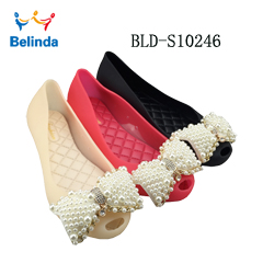 PVC Shoes Fish Mouth Flat Fashion Comfort Jelly Sandals Women