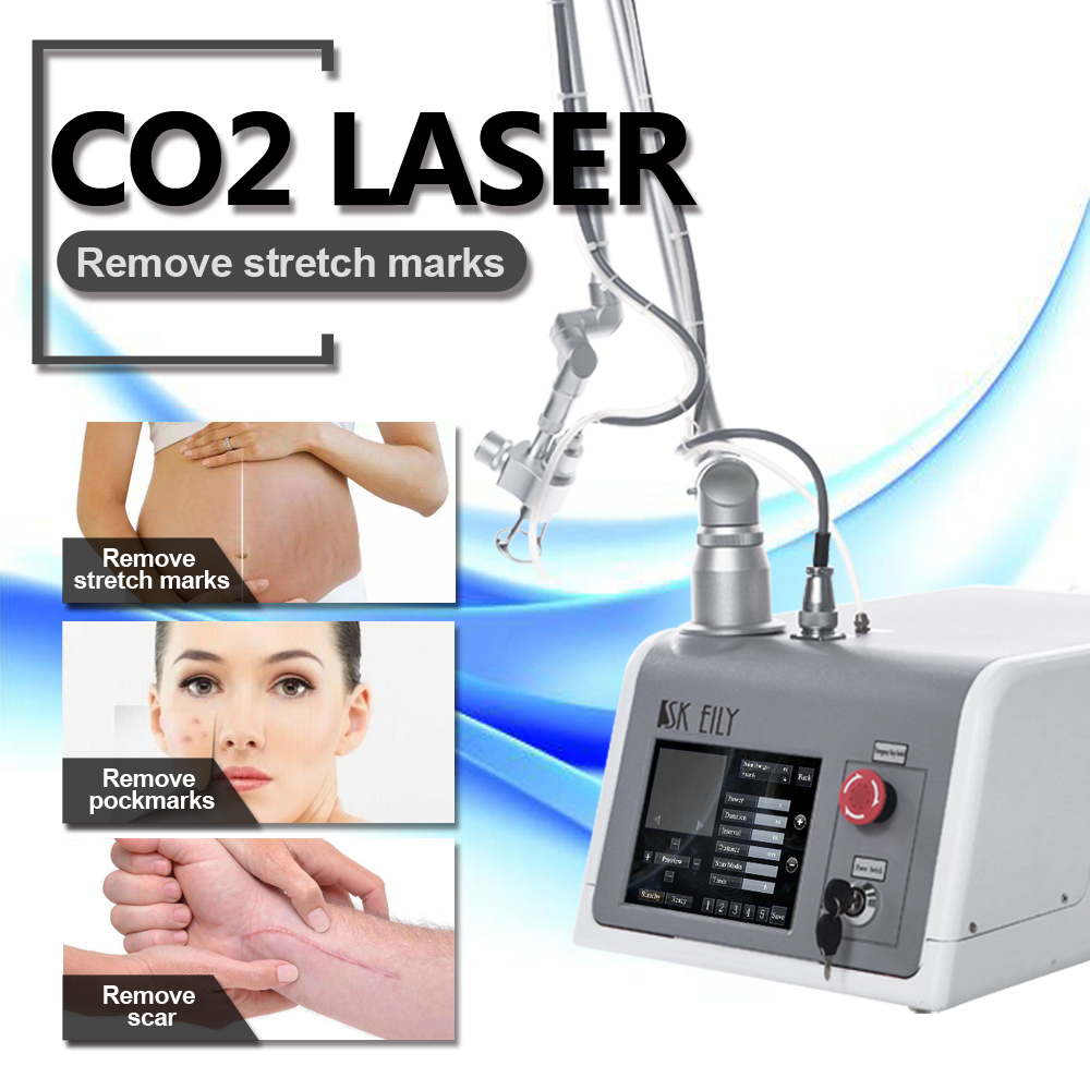 Wrinkle remover anti aging 10600nm fractional co2 laser machine