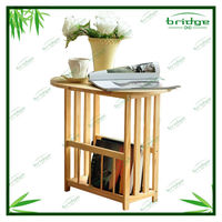 Classic small round end table