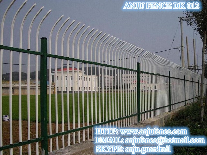 High security anti climb fence with welding and assemble