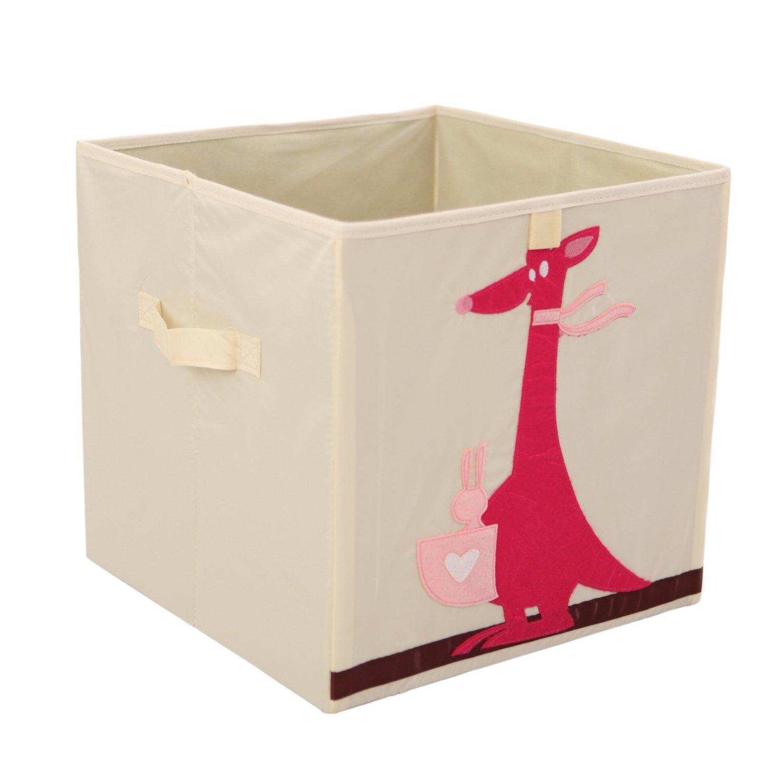 Get Quotations · Storage Bins Foldable Cube Box   MURTOO   Eco Friendly Fabric  Storage Cubes Origanizer For Kids