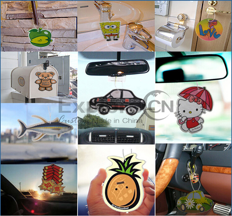 2016 Advertising Promotional Paper Air Fresheners