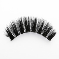 New Style Magnetic Strip False Lashes 3D Silk Lash Synthetic Eyelash