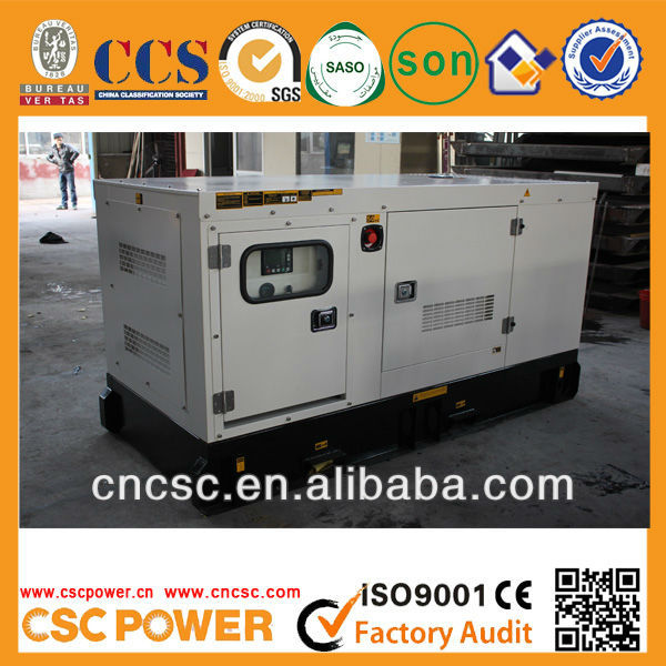Hot Sale CSCPower 30kw with cummins engine Diesel Generator Set