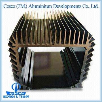 Aluminum Extruded Black Anodizing Heat Sink Box