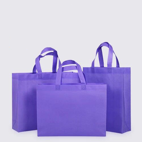 Customizable 1 color reusable promotional eco friendly spundond no non woven bag for shopping