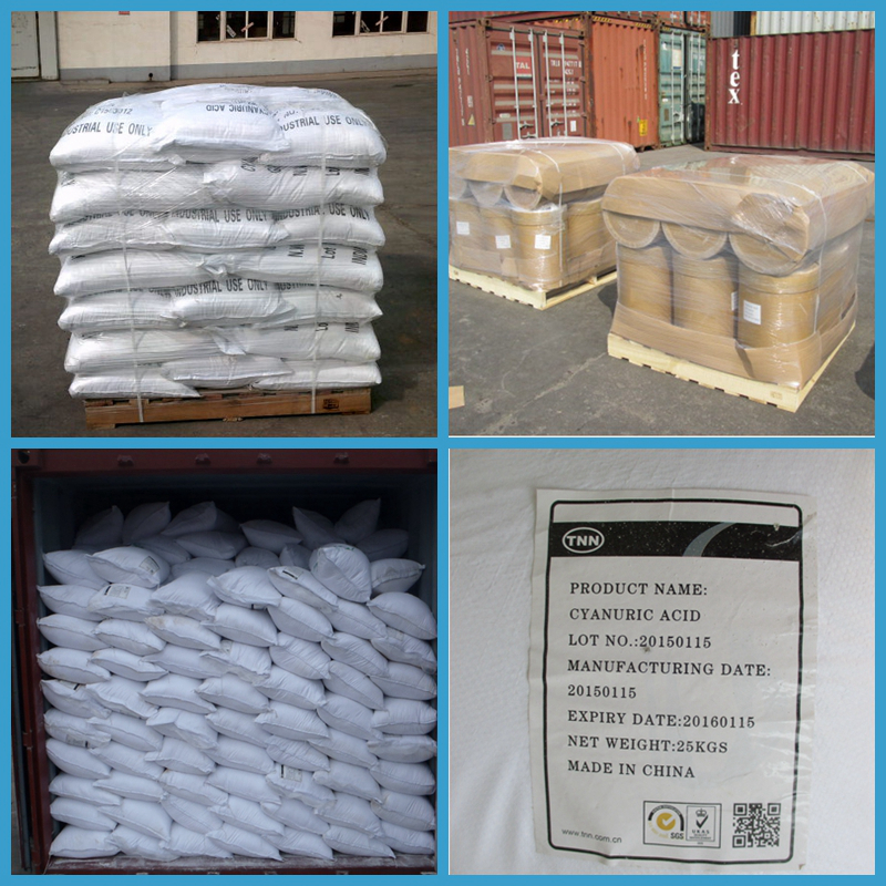 98.5% cheap price Raw material for TCCA/SDIC Cyanuric acid