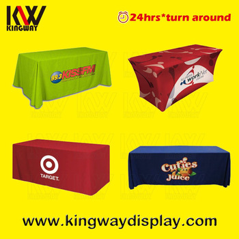Display Custom Printed Fitted 6ft Table Cover Cloth With Polyester  sc 1 st  Alibaba & Display Custom Printed Fitted 6ft Table Cover Cloth With Polyester ...