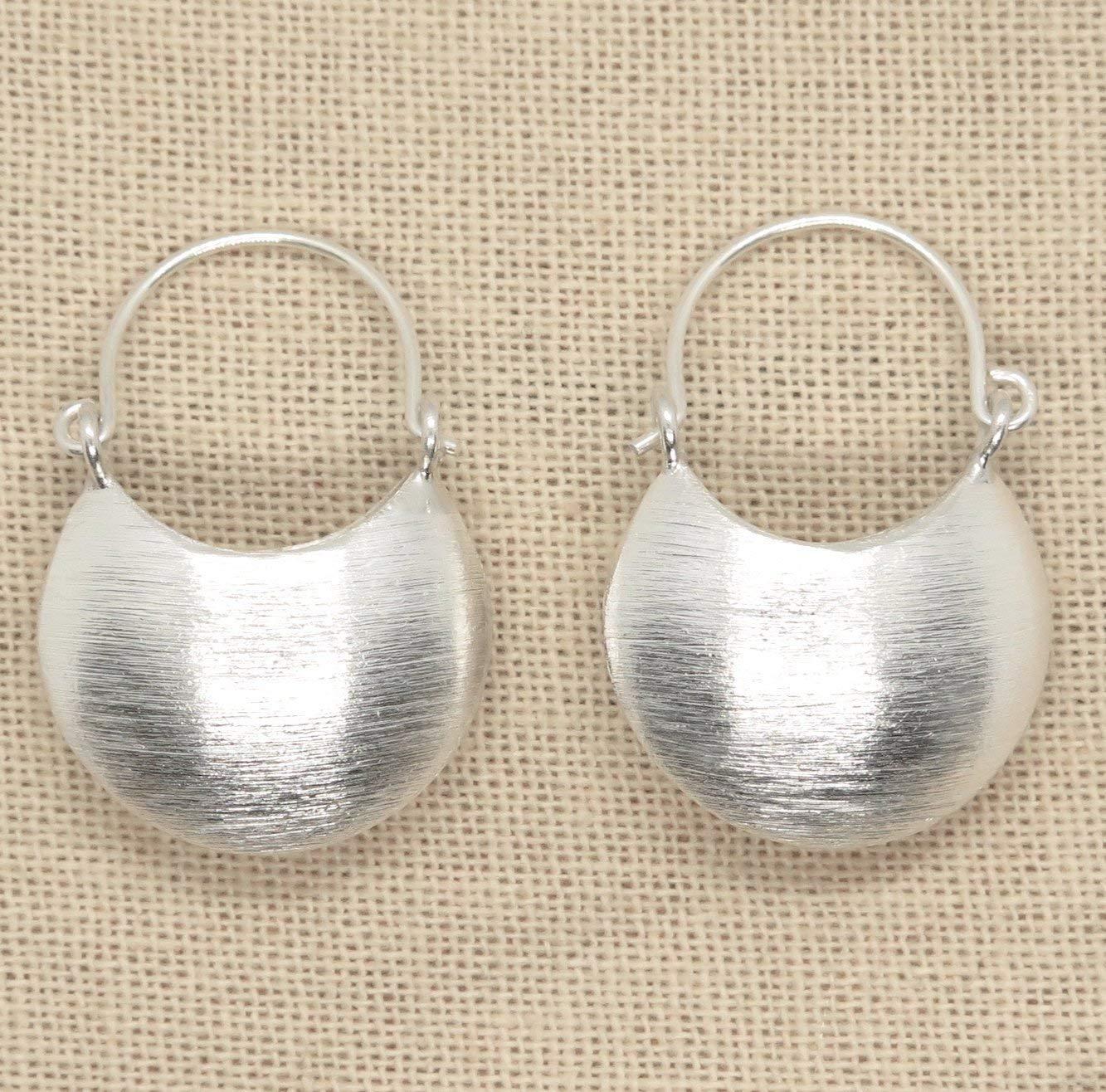 be8deea4a80e7 Cheap Silver Half Moon Earrings, find Silver Half Moon Earrings ...