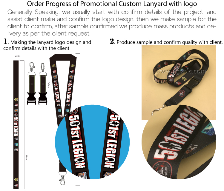 Factory directly selling custom key beautiful lanyards