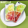 2015 Cool summer custom design hard pc phone case for iPhone 5s 6 plus with 3D lemon style
