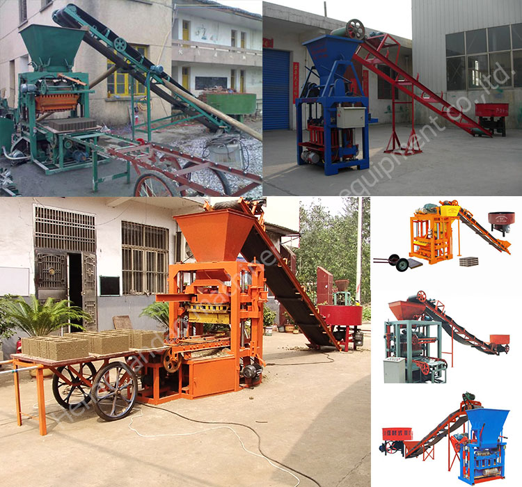 Hydraulic Press Fully Automatic Hollow Cement Concrete Block Making Machine Price for Sale