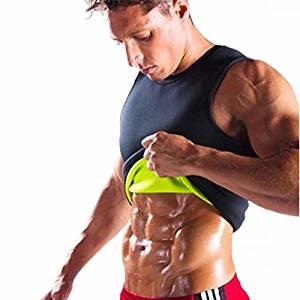 4f5b1323a8d5b Get Quotations · Fat Burning Sauna Sweat Vest for Men