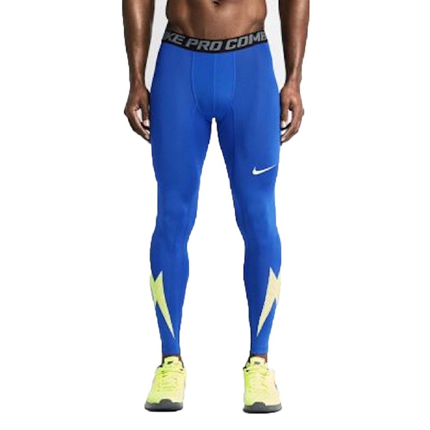 86dbce514d Get Quotations · Nike Men's Pro Combat Compression Printed Football  Training Tights