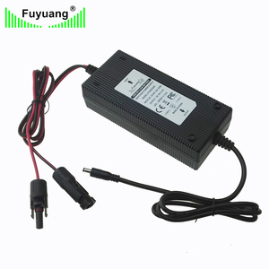 12V/24V DC input 54.6V 1.7A output solar charger 48v electric bike battery charger