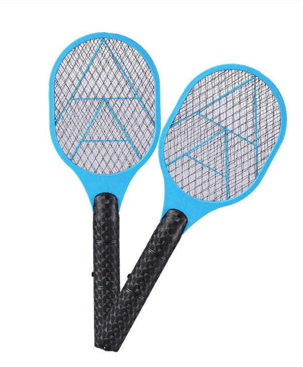 Electric Insect Bug Bat Wasp Mosquito Zapper Swatter Racket anti mosquito killer Rechargeable Plastic Mosquito-hitting Swatter