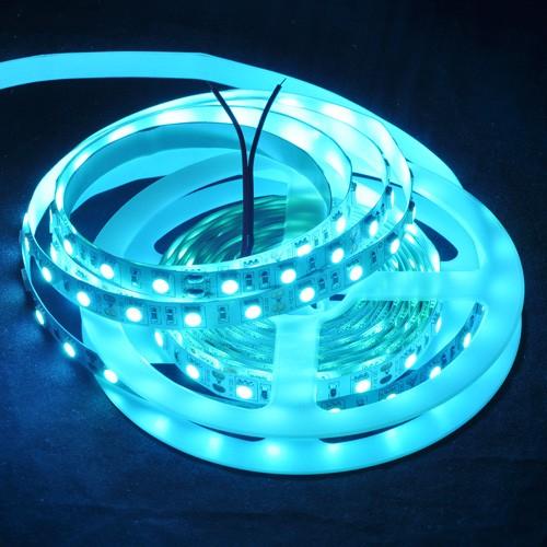 Dc12v 72w Ice Blue 5m/reel 5050 Smd Led Flexible Strip Light 300 ...