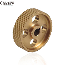 Manufacture high precision brass brass timing pulley