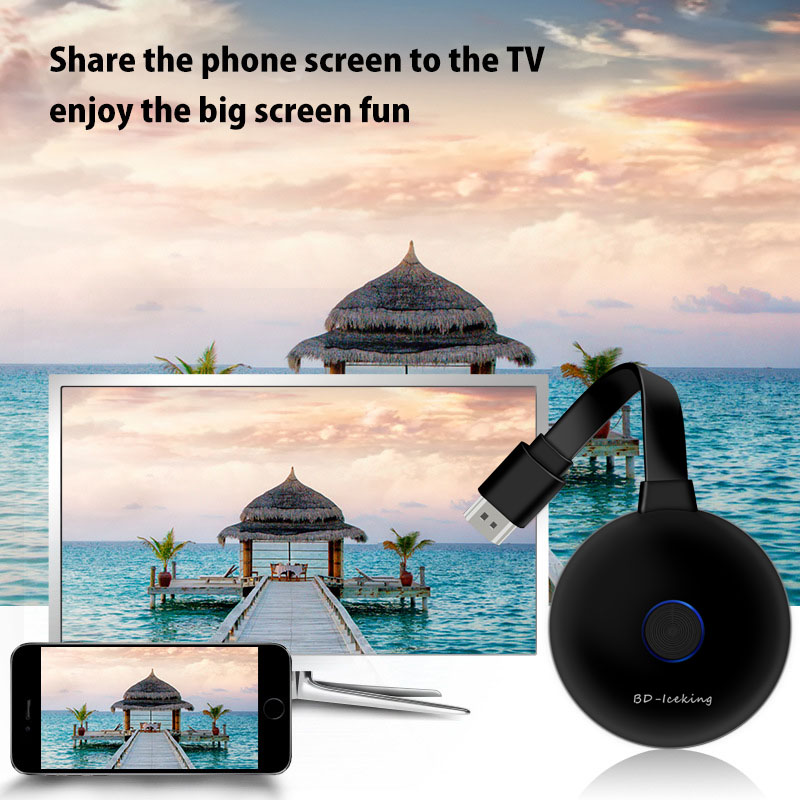 4 K 5G Wifi Hiển Thị Dongle Miracast AirPlay DLNA Cho IOS Android Điện Thoại