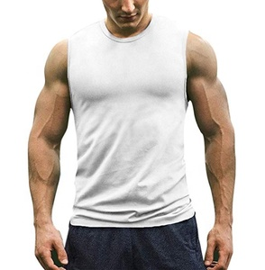 Mens Strong Tank Tops Seamless Tight Muscle Singlets In Bulk undershirt