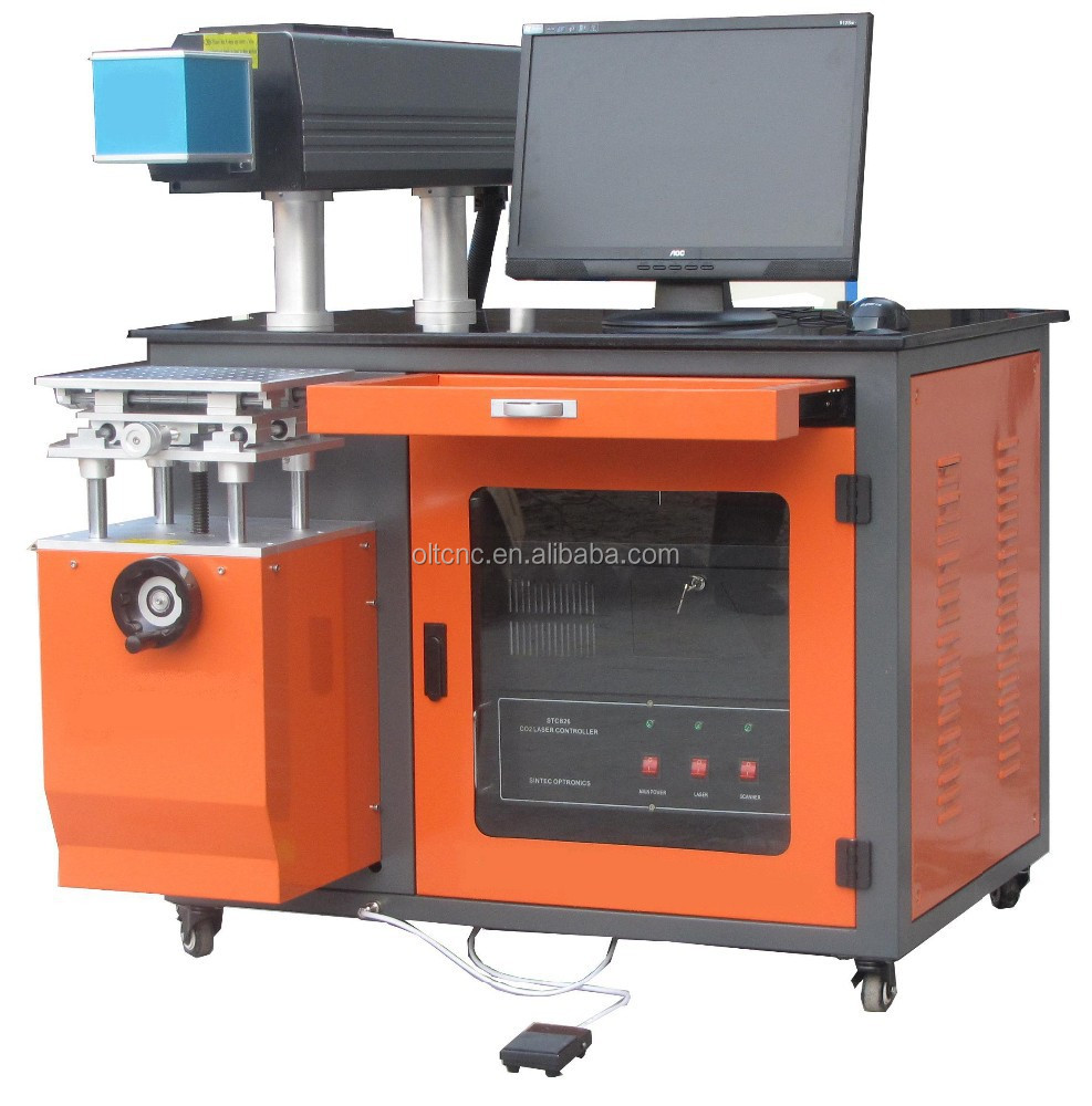 Good Job !!! CO2 laser marking machine price in stock China