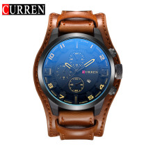 CURREN 8225 Mode Nieuwigheid Top Merk Curren <span class=keywords><strong>Horloge</strong></span> Man Luxe Horloges Hand Quartz <span class=keywords><strong>Horloge</strong></span> Met Lederen Band