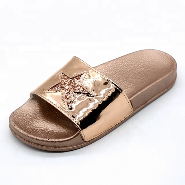 Latest Design Girls Comfortable Fancy New Fashion Ladies Slippers for Women