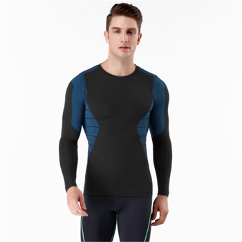 Danfirst 2019 New Fitness Running Tops Knit Tight-Fitting Sports Short Sleeve/Long Sleeves Men's Seamless T Shirt