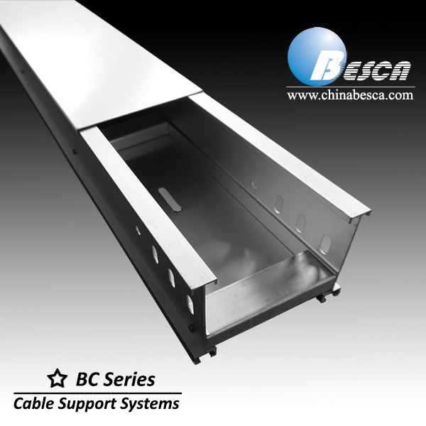 Solid bottom cable trays