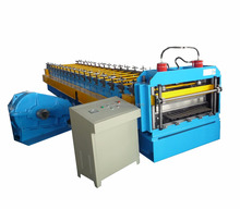 corrugated fine roofing sheet bending roll forming machine