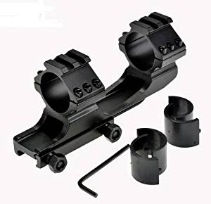 Practical One Pieces Rail Bracket 30mm Portable Dual Scope Rings AR Scope Mount Tactical Hunting Rail Mount Dreanouse US02