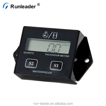Runleader Digital Erasable Racing Rpm Tachometer Hour Meter Used For Motorcycle Atv Generator