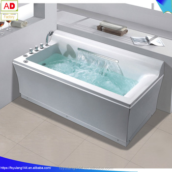 High Quality Hydrotherapy Whirlpool Massage Bathtub With Waterfall New  Arrival Japanese Massage Bathtub AD 1607