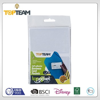 Topteam new topocket series self adhesive business card pockets 1 topteam new topocket series self adhesive business card pockets 1 custom silicone rubber smart colourmoves