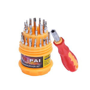 31 pcs in one Screwdriver set Repair phone mulifuction hand tools
