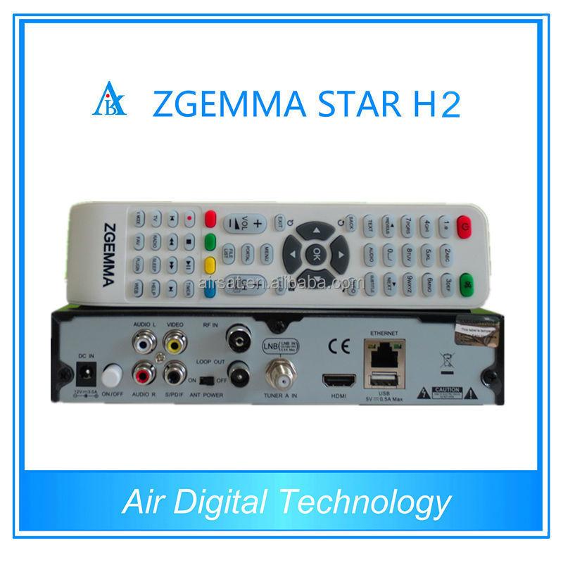 Zgemma Star H2 Dvb T2 Satellite Receiver Full Hd Media Player,Cloud Ibox 3  Upgrade - Buy Dvb T2 Satellite Receiver,Satellite Receiver Full Hd Media
