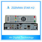 Zgemma star H2 dvb t2 satellite receiver full hd media player, cloud ibox 3 upgrade