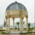 European style pavilion outdoor natural carving stone gazebo for sale