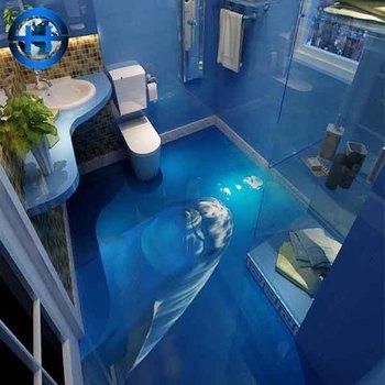 Luxury Living Room Pattern 3d Floor Tile For Interior House Design