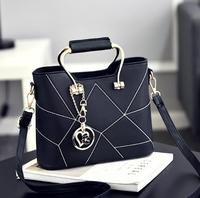 zm33477a korea fashion ladies tote handbag wholesale women sweet bag for spring