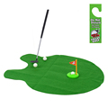 New Toilet Bathroom Mini Golf Potty Putter Game Men s Toy Novelty Gift Adults Golf Practice