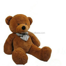 Popular promotion brown and white teddy bear 180cm teddy bear cheap large plush toys