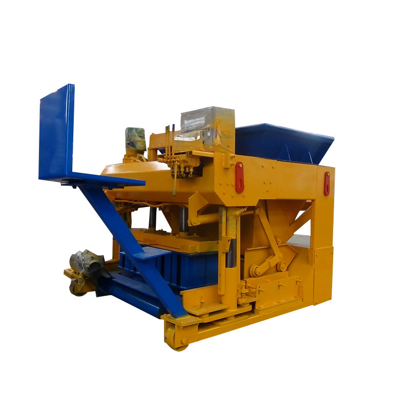 Concrete and sand solid block making machine price
