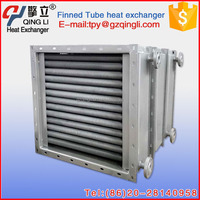 Cost-effective Blower steam/water medium tubular air heater